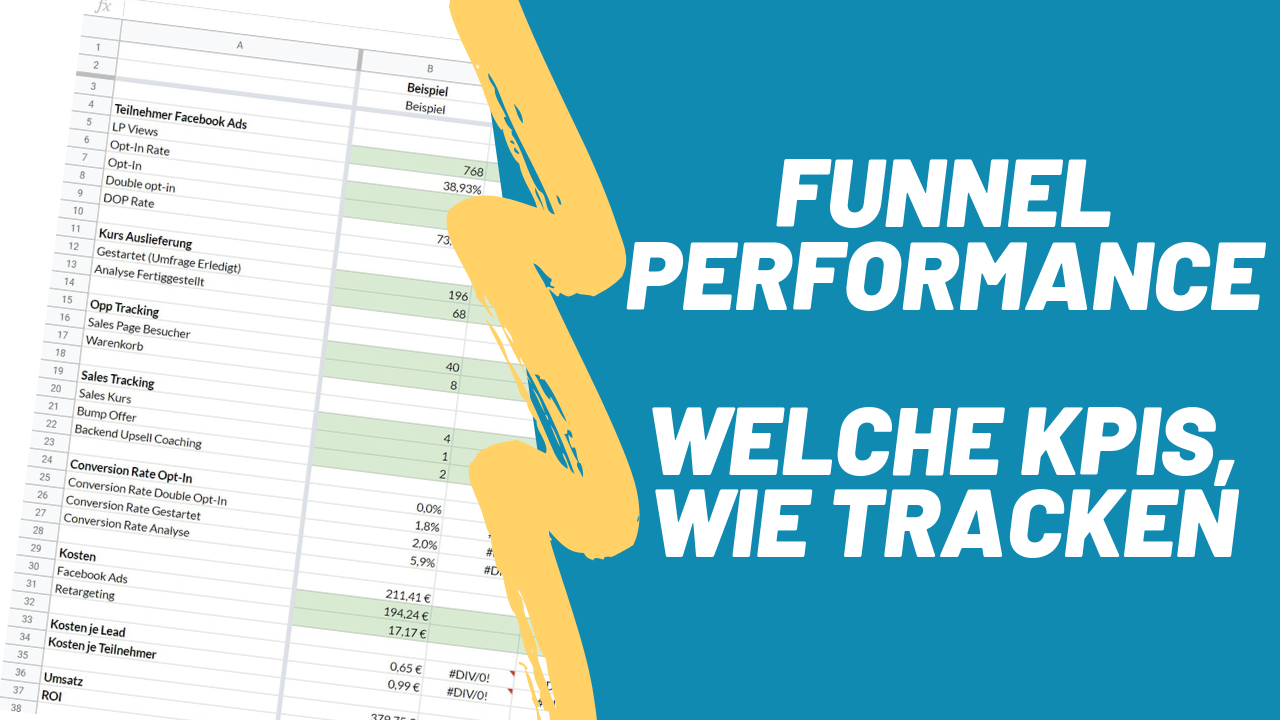 funnel performance tracking